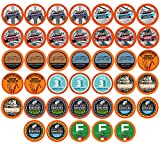 TWO RIVERS COFFEE Medium Roast Coffee Pods, Compatible with 2.0 Keurig K-Cup Brewers, Variety Sampler Pack, 40 Count