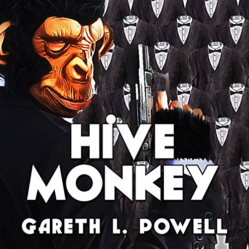 Hive Monkey audiobook cover art