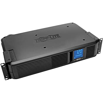 Tripp Lite SMART1500LCDXL 1500VA Smart UPS Back Up, 900W Rack-Mount/Tower, LCD, AVR, Extended Runtime Option, USB, DB9, 3 Year Warranty & Dollar 250,000 Insurance