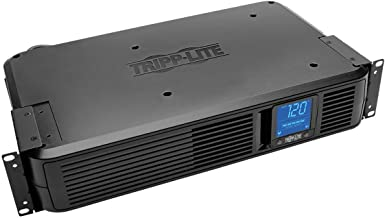 Tripp Lite 1500VA Smart UPS Back Up, 900W Rack-Mount/Tower, LCD, AVR, Extended Runtime Option, USB, DB9, 3 Year Warranty & $250,000 Insurance (SMART1500LCDXL)