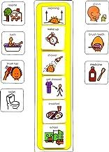 Plastic Visual ASD Morning Routine (Picture Communication Symbols)