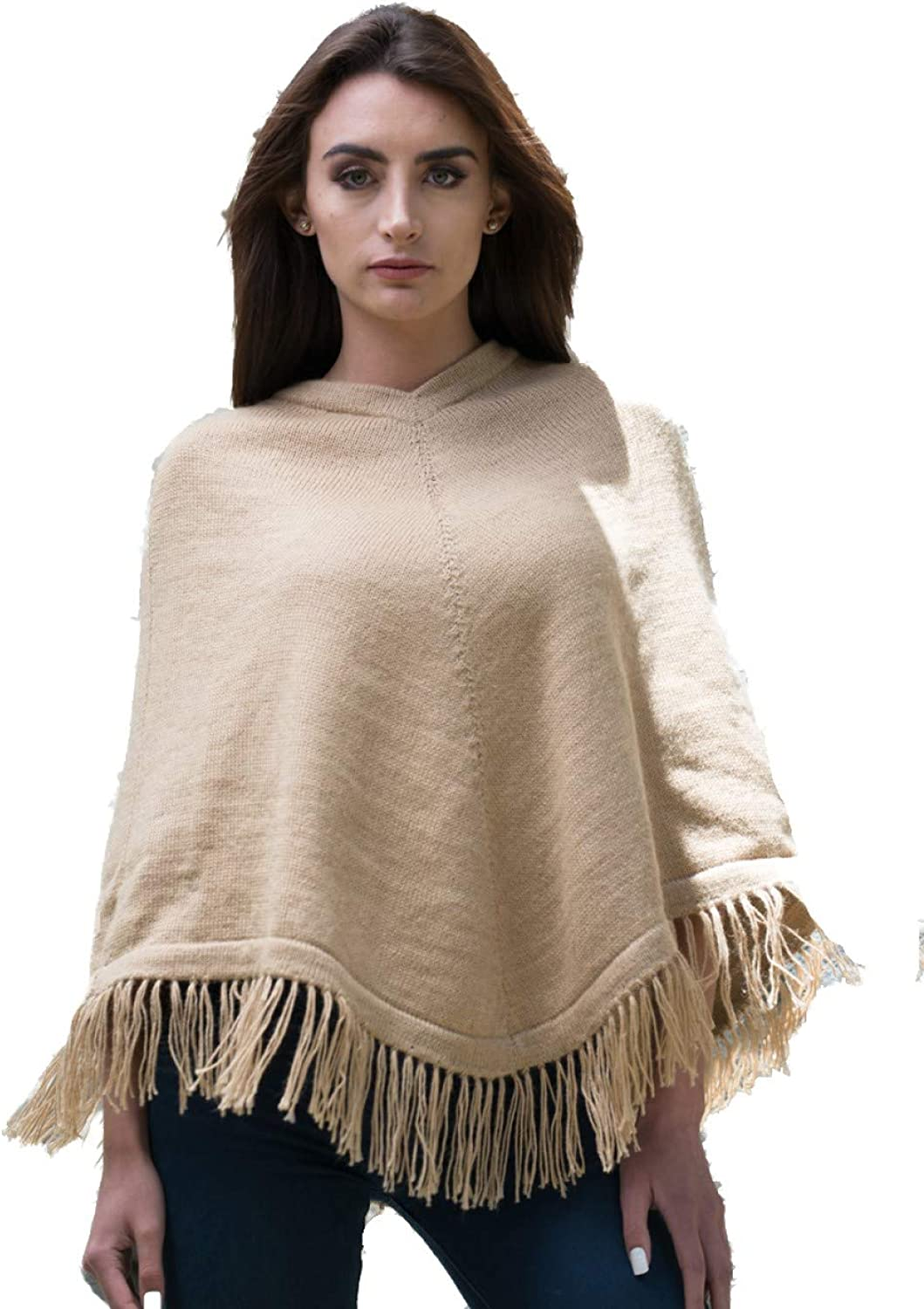 Gamboa Smooth Poncho  Natural Beige for Women