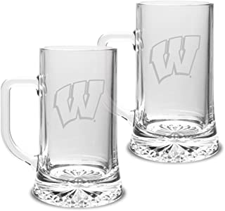 Clear One Size University Glass NCAA Pittsburgh Panthers Adult Set of 2-23 oz University Pilsners Deep Etch Engraved