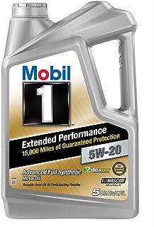Mobil 1 (120765 Extended Performance 5W-20 Motor Oil - 5 Quart