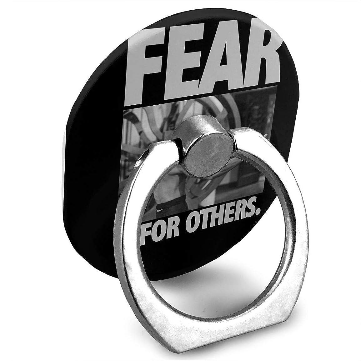 コンプリートむき出し死傷者FEAR IS FOR OTHERS Bruce Lee ブル-ス リ- プリント リングホルダー ホールドリング 楕円 スタンド機能 落下防止 360度回転 IPhone/Android各種他対応