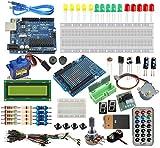 [Sintron] Arduino Uno R3 Board Starter Kit with PDF files & Tutorial CD In italiano + Transparent Acrylic Case LCD Servo Motor Sensor Module etc, for Arduino Starter Learner