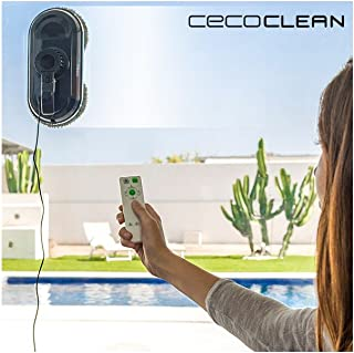 Robot Limpiacristales Cecoclean WinRobot 870 5035 80W Azul Negro