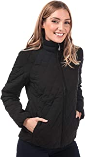 Timberland Womens Piper Mountain Quilted Jacket in Black.