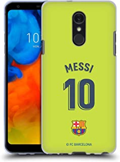 Official FC Barcelona Lionel Messi 2018/19 Players Away Kit Group 1 Soft Gel Case Compatible for LG Q Stylus/Q Stylo 4