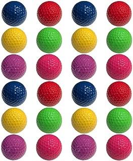 Infusion Miniature Golf Balls - Colored Mini Golf Balls - 6 Pack