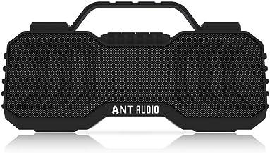Ant Audio Treble X 950 Portable Bluetooth Speaker 6W, FM/Aux/SD Card/USB with TWS Function - Black