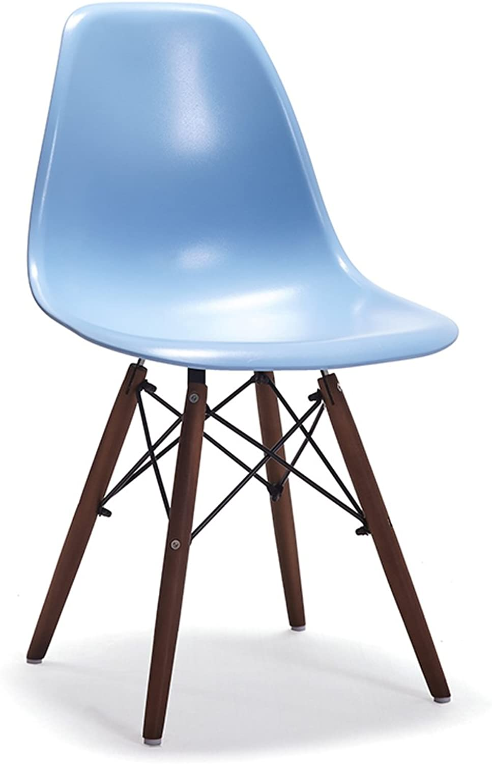 HZB European Chairs, Stools, Household Backrest Plastic Chairs, Creative and Concise Chair for Negotiation