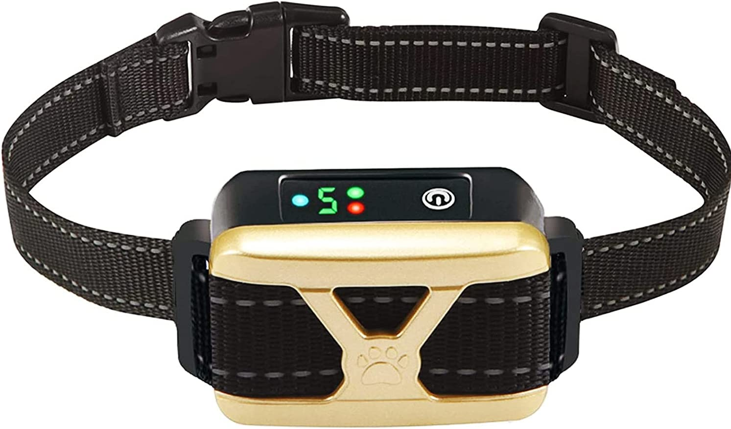 Esosy Bark Collar Rechargeable Dog Control Daily bargain sale Col Barking Max 74% OFF Training