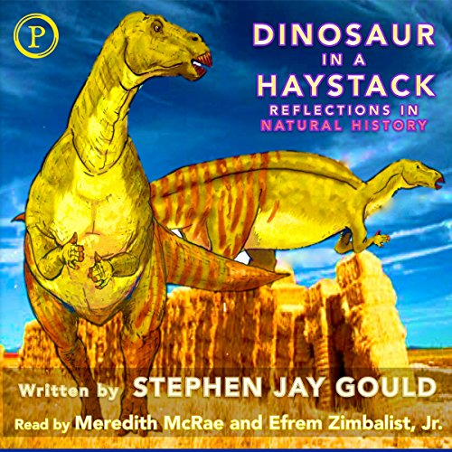 Dinosaur in a Haystack audiobook cover art