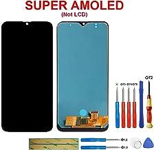 Swark Super AMOLED - Pantalla táctil LCD para Samsung Galaxy A30s SM-A307 (sin Marco), Color Negro