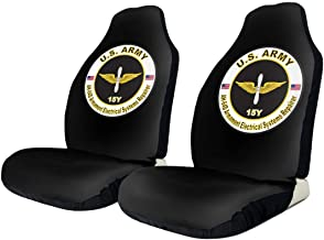 KEEDCE&FJE Army MOS 15Y AH-64-D Armament Electrical Systems Repairer Universal Car Seat Cover Car Seat Covers Protector for Automobile Truck SUV Vehicle