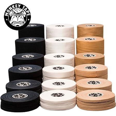 15 Yards in Black 4 Rolls of 0.5 inch Tape Monkey Tape/®