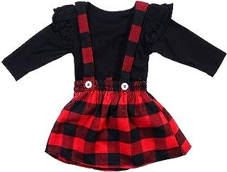 mettime Baby Girls Halloween Outfits Tutu Skirt Suspender Dress My 1st Halloween Long Sleeve Pumpkin Floral Ruffle Strap Set