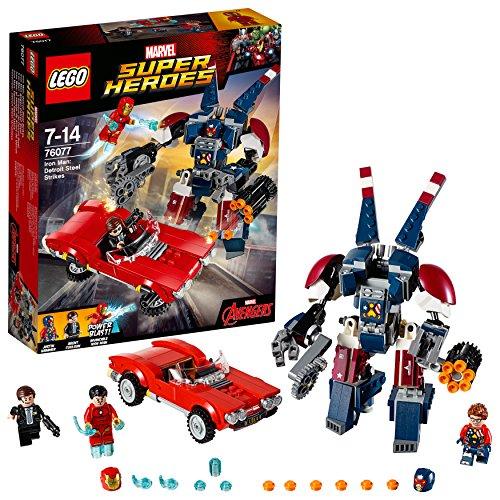 LEGO Super Heroes - Iron Man: el Ataque de Acero de Detroit (76077)