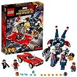 LEGO Marvel Super Heroes - L'attaque de Detroit Steel - 76077 - Jeu de Construction