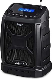 UEME Rugged DAB/DAB+ FM Bluetooth Radio DB326 Black