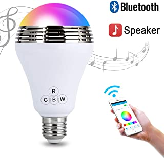 Autai LED Light Bulb with Smart Bluetooth Speaker and APP Control RGB Multi Color Changing Dimmable