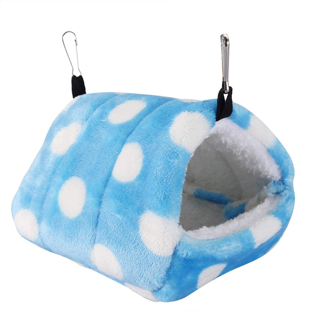 Zhjvihx Blue Hamster Bed Cotton Soft and Hook with Super Sales for sale special price Comfortable