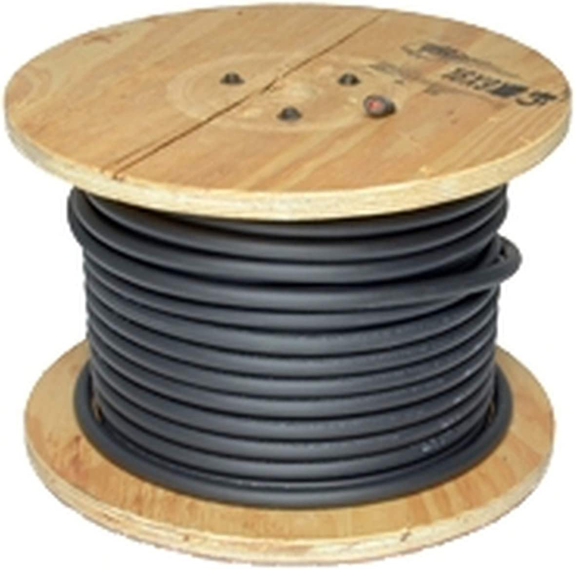 Made in the USA 25 Feet Black Inweld 1//0 Gauge Premium Welding Cable 600 Volt