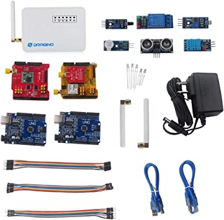 Dragino LoRa IoT Development Kit 915Mhz, Lora Gateway LG01, LoRa Shield, LoRa GPS Shield, for Long Range Irrigation Systems, GPS Tracker