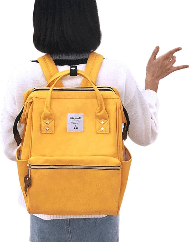 Unbekannt Rucksack - Süe Mittelschülerin Schultasche Weibliche Schultertasche College Wind Lssige Schne Rucksack Weibliche Reisetasche (Farbe   Ingwer)