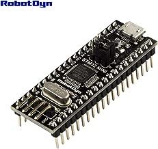 RobotDyn - Black Pill STM32 Original STM32F103C8T6 ARM Cortex-M3 Minimum System Development Board. (STM32 Firmware STM32F103C8T6, Soldered)