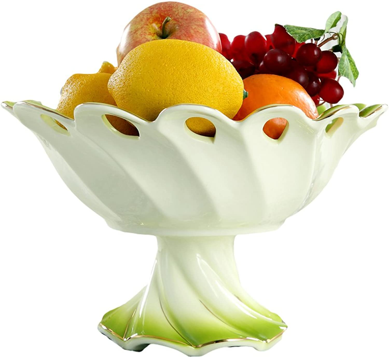 contador genuino WEEKDEGY Cuenco de Fruta, Fruta, Fruta, Plato de Dulces Europeos, hogar Creativo, hogar, Sala de Estar para Decoraciones de mesas de café, Adornos  lo último