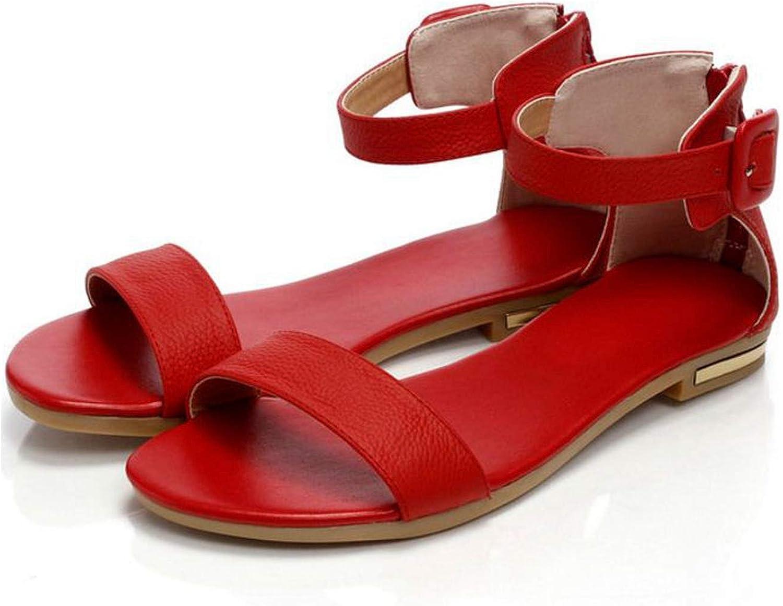 Ankle Wrap Women Sandals Flats Sandals Women Summer Leisure shoes Open Toe Sandals
