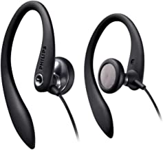 Philips SHS3300BK/10 - Auriculares deportivos, color negro