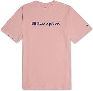 Champion Mens Big and Tall Classic Jersey Logo T Shirt