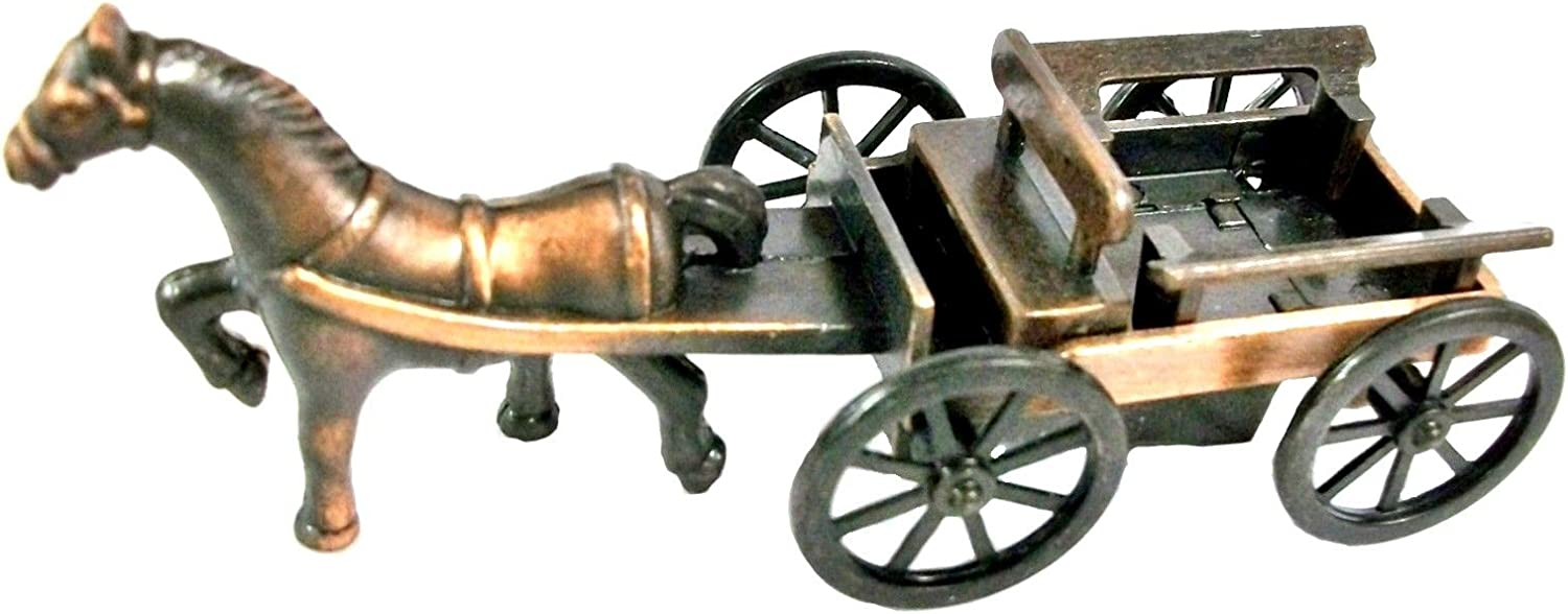 Superlatite Horse and Flat Buggy High quality new Die Collectible Sharpener Metal Cast Pencil