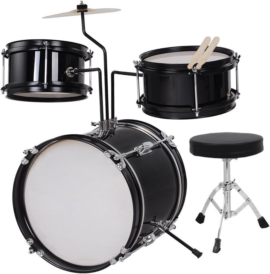 Kid Drum Set - kit with Under blast sales ages seat drumsticks cheap drum instrument