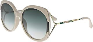 Jimmy Choo Square Sunglasses for Women - Silver & Gray Lens