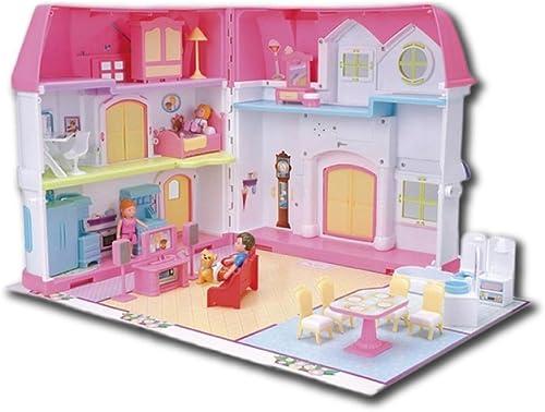 LINAG Kinder Modelle Stichs  Manuelle Montage T chen Sie Vor Spielen H er Haus Spielzeug Geburtstagsgeschenk DIY Minipuppen Modepuppen Puzzle Kunststoffe Zubeh Toy-5947