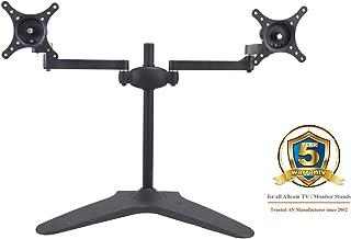 Allcam MMS05 Soporte de Mesa para Pantalla Plana Atornillado Negro - Soporte para televisor (Atornillado, 24 kg, 61 cm (24