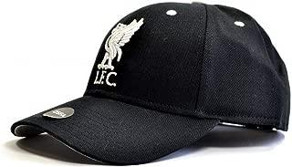 Liverpool FC Black Contrast Cap - Authentic EPL Merchandise