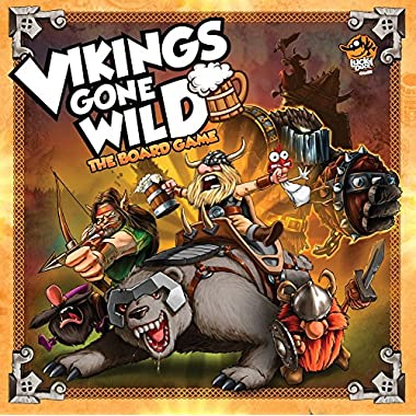 Lucky Duck Games LKY001 Vikings Gone Wild: The Board Game