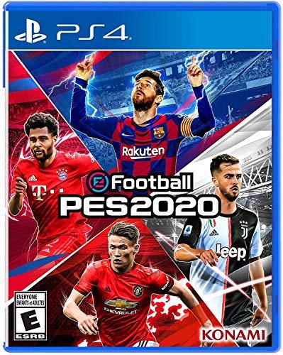 Pro Evolution Soccer eFootball PES 2020 - PS4 - Spanish Cover