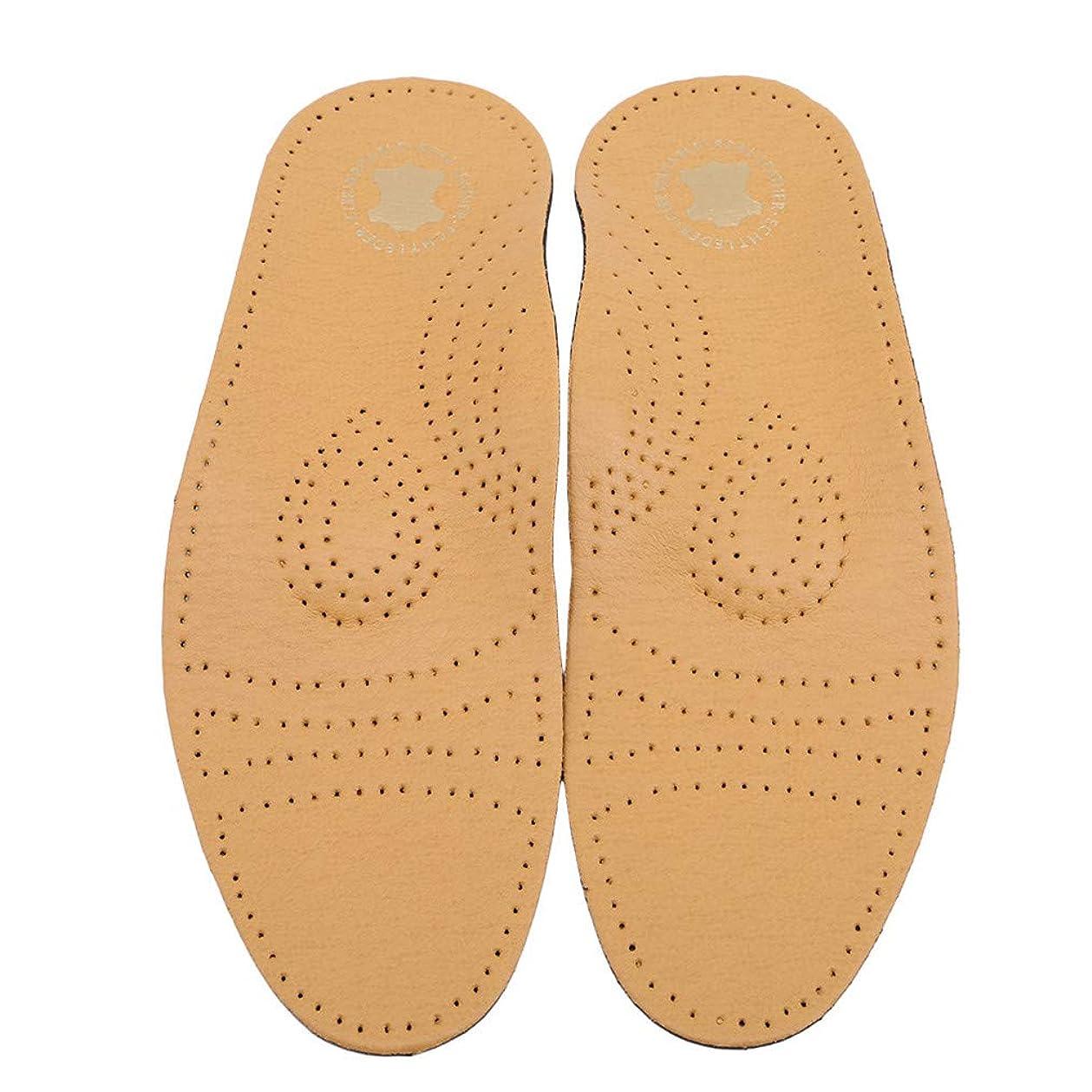 倫理的プレフィックスパスタCngstar 活性炭模造レザーアーチフルパッド イミテーションレザーインソール 靴アクセサリー (サイズ1)