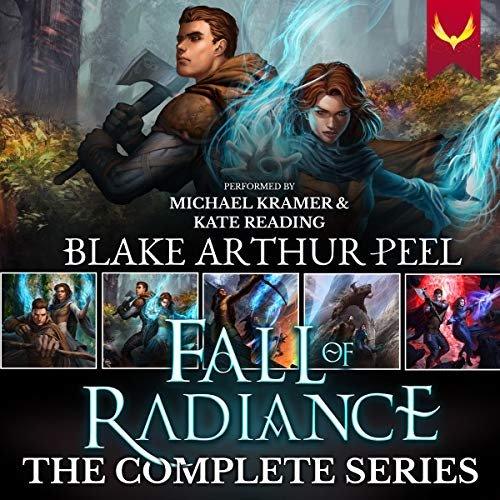 Fall of Radiance: The Complete Series (An Epic Fantasy Boxed Set: Books 1-5)