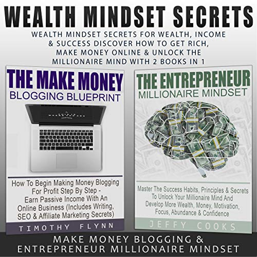 Wealth Mindset Secrets for Wealth, Income & Success audiobook cover art