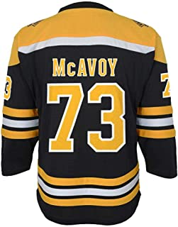 Outerstuff Boston Bruins Charlie McAvoy NHL Youth Replica Jersey