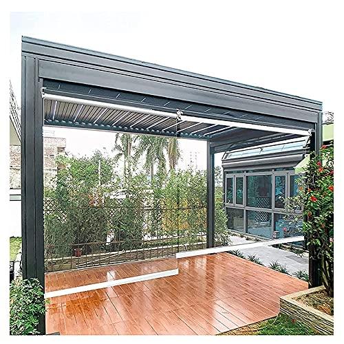 XJJUN Transparente Rollos, Wasserdichter Outdoor-Kunststoff-Trennschirm HD-transparente Schattenschirme, Für Den Empfang An Der Rezeption Im Innenbereich (Color : Klar, Size : 0.9x2.5m)