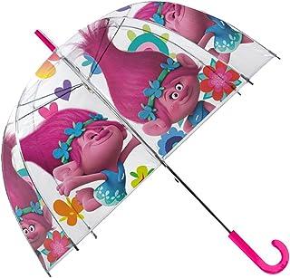 Paraguas Transparente Campana 48cm Manual de Paraguas Clásico, 80 cm, Multicolor