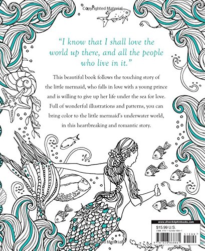 The Little Mermaid: A Coloring Book (Classic Coloring Book)